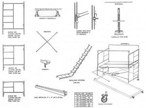 Venta y renta de andamios para construccion for Alquiler de andamios precios